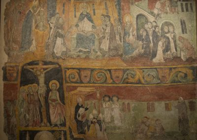 Escenes de la vida de Sant Agustí.  Fragment